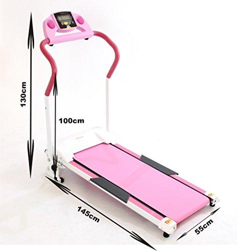 Gym master powerful w motorised treadmill kmh
