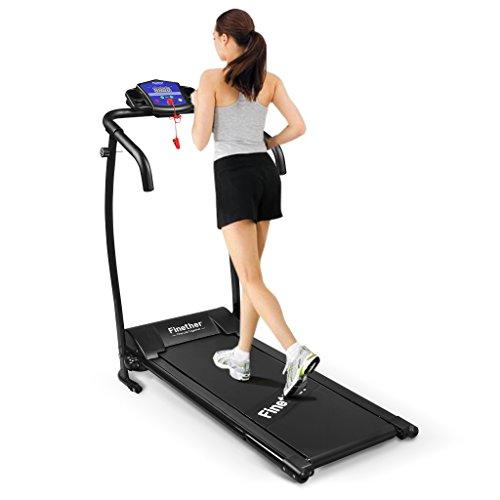 finether folding electric motorized treadmill running